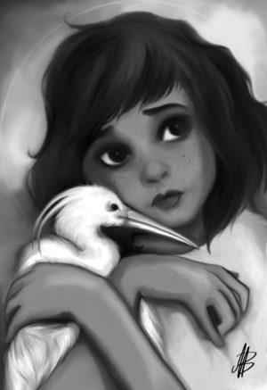 fille au heron1